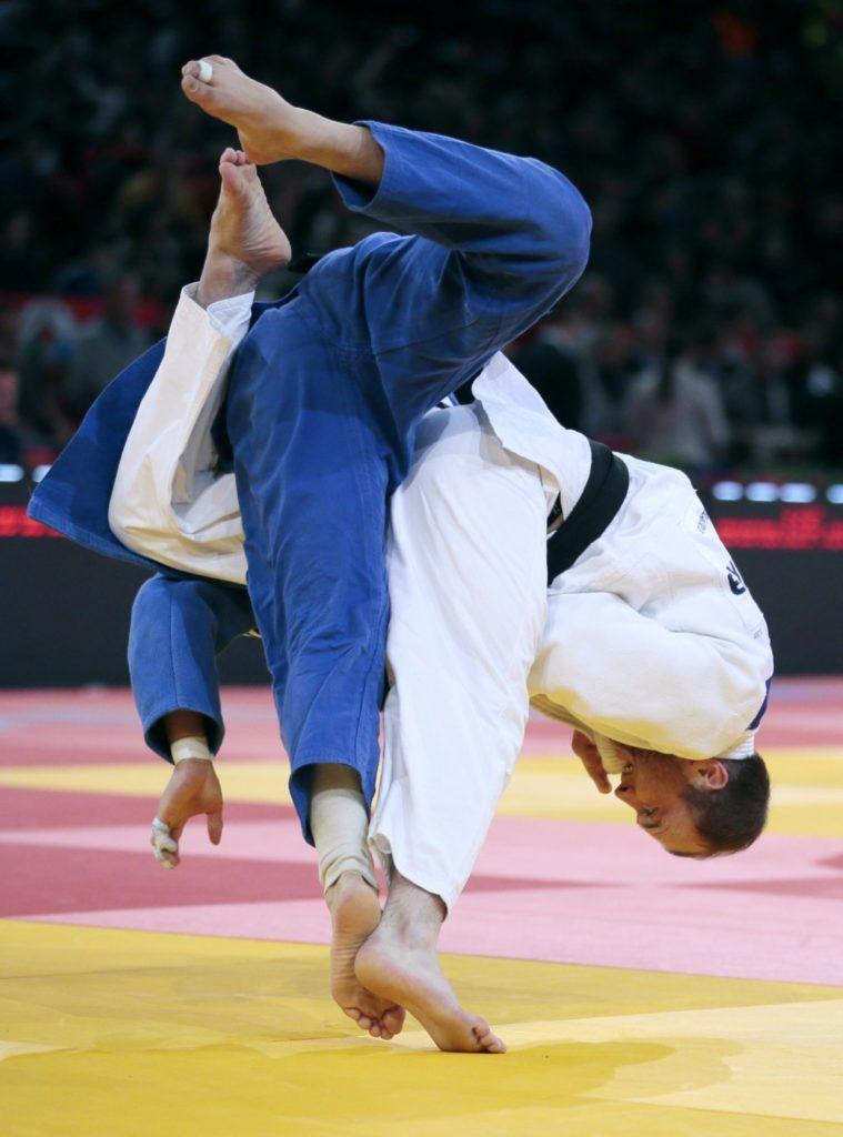 международный фото борцов дзюдо тренировок
